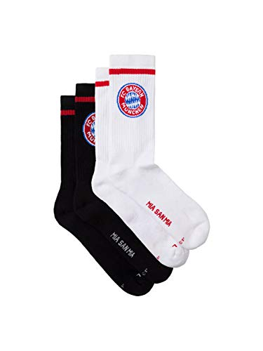 FC Bayern München Sport-Socken 2er Set, 39-42