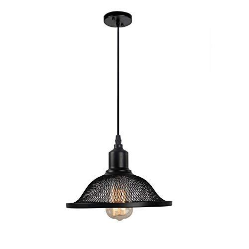 Led hanglampen in hoogte verstelbaar dimbaar retro industriële stijl restaurant bar café creatieve luidspreker afdekking enkele kop kroonluchter