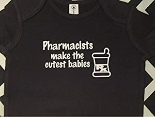 pharmacist baby bodysuit pharmacist infant one piece