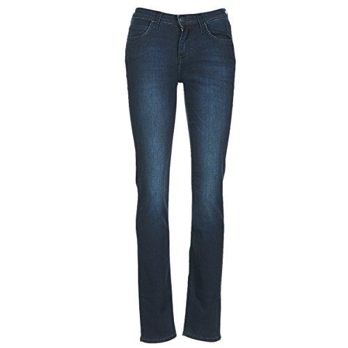 Lee Damen Elly' Jeans, Schwarz (Super Dark), W25/L33