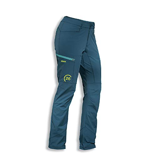 Uvex 26 Arbeitshose - Blaue Sicherheits-Bundhose für Damen 44