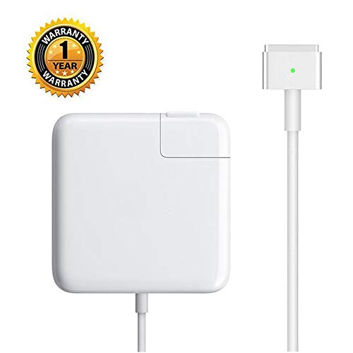 Sehonor Charger Repalcement for MacBook Air 11 inch and 13 inch After Mid 2012 AC 45W Magnetic Magsafe 2 (T-tip) Shape Connector Power Adapter