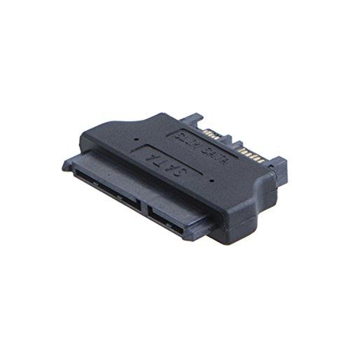 """CableCreation SATA 22Pin Female to Slim SATA 13Pin Male Adapter, Slim SATA Adapter, 2.5"""" Sata 22Pin to Slim 13pin Male Converter"""