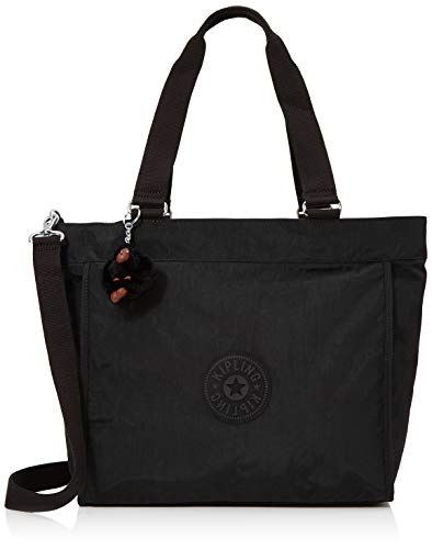 Kipling New Shopper L - Borse a Tracolla Donna, Nero (True Black), 15x24x45 cm (W x H x L)