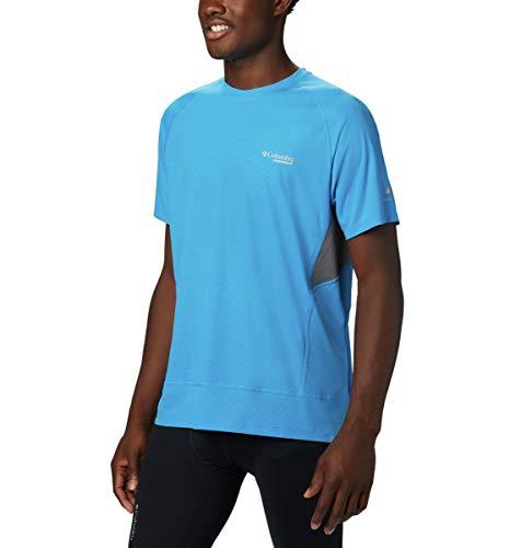 Columbia Titan Ultra II T-Shirt à Manches Courtes pour Homme Bleu Statique Taille M