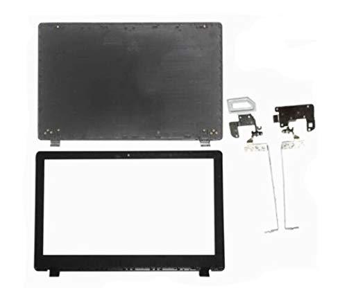 Replacement for ACER ASPIRE E5-511 E5-531 E5-551 E5-571 E5-572 V3-572 LCD Top Back Cove & Bezel & Hinges