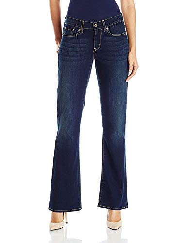 Signature by Levi Strauss & Co. Gold Label Women's Curvy Bootcut...
