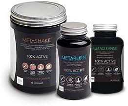 METABURNA Fat Burn 60Caps Metashake Weight Loss Shake 14 Serving Metacleanse Detox 80 Caps Triple Your Chance of Successful WEIGHTLOSS Estimated Price : £ 99,99