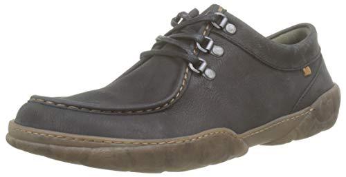 El Naturalista Turtle, Zapatos de Cordones Brogue Hombre, Negro (Black Black), 41 EU