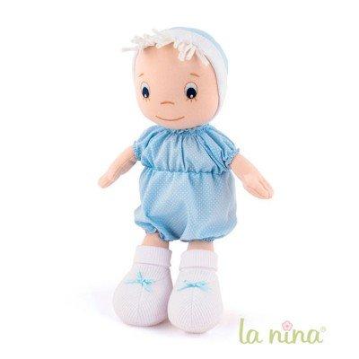 Poupée de chiffon : Bébé bleu