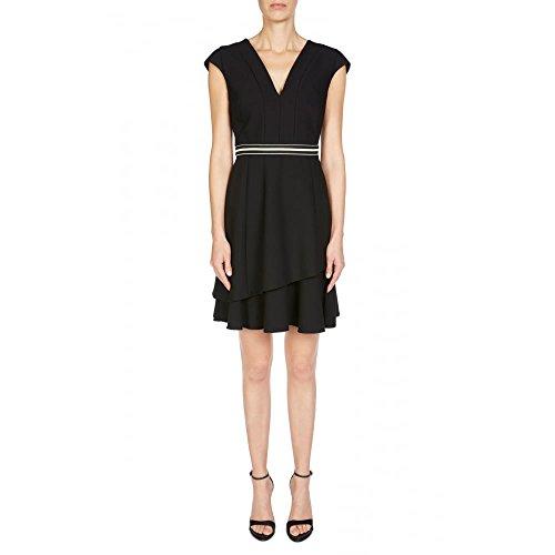 Oui 56771 Dress with Belt 16 Black
