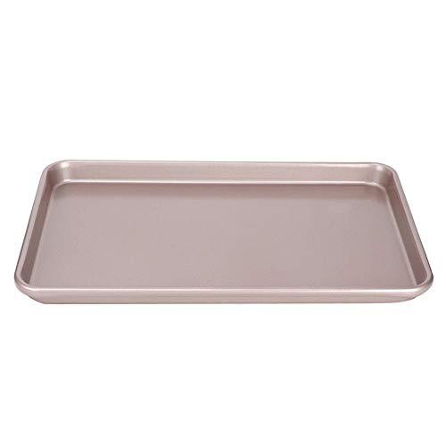 Vierkante bakvorm, 15 inch vierkante anti-aanbak koolstofstaal Nougat-cake Bakken Cake brood koekenpan Ladebakvorm Bakvormen Keukenbakgereedschap met rolrandontwerp(15 in wk9121)