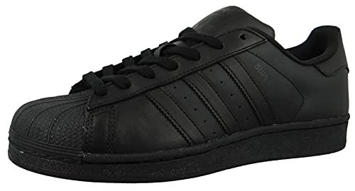 Adidas Originals Superstar Foundation, Baskets Basses homme, Noir (Core Black/Core Black/Core Black), 42 2/3 EU (8.5 UK)