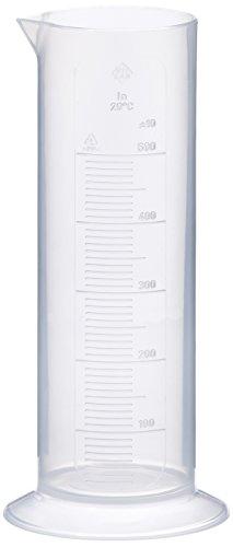 neoLab E-4038 - Probeta graduada (baja, 500 ml, medidas de 10 ml,...