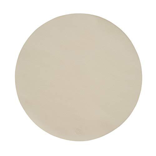 Pichler JAZZ Tischset Kunstleder abwischbar und waschbar rund 38cm sand (1 Stück)