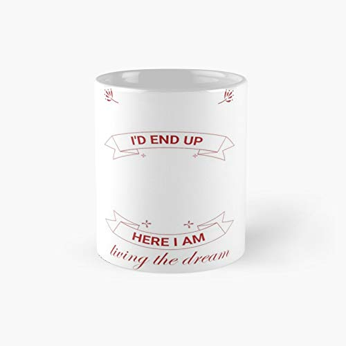 Taza clásica con texto en inglés 'I Never Dreamed I'd End Up Being A Son in Law Awesome Gifts