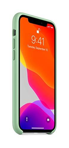 Apple Silikon Case (für iPhone 11 Pro) - Beryll
