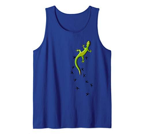 Für Echsen & Reptilien Fans Kletternder Salamander Gecko Tank Top