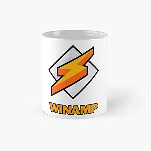 Winamp Logo Classic Mug   Best Gift Funny Coffee Mugs 11 Oz