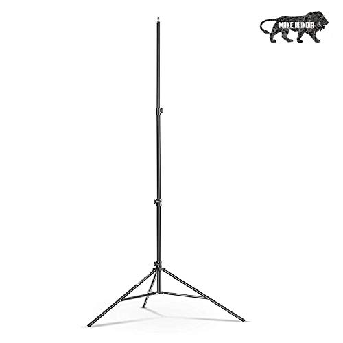 AYSIS Lightweight & Portable 9 Feet Aluminum Alloy Studio Light Stand | for Videos | Portrait | Photography Lighting | Ideal for Outdoor & Indoor Shoots.
