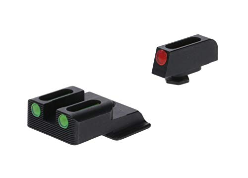 Truglo Fiber-Optic Front and Rear Handgun Sights for Smith & Wesson