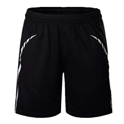 N\P Pantalones cortos deportivos para hombre - negro - 3X