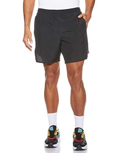 Nike Challenger, Pantaloncini da Corsa Uomo, Nero (Black/Black 010), 44 (Taglia Produttore: Medium)