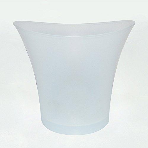 Koet Eiskübel, LED-Farbwechsel-Eiskübel, bunte LED-Eiskübel, KTV-Bar, Heim-Eiskühler, 5 l, für Bier, Champagner, Wein, nicht null, bunt, Free Size