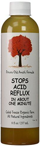 Caleb Treeze Organic Farm Stops Acid Reflux 8 oz (Pack of 3) (3 Items)