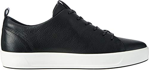 Ecco Damen Soft 8 Ladies Sneakers, Schwarz (1001BLACK), 38 EU