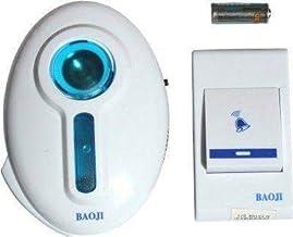 CARLIBER Wireless Doorbell Door Bell Chime Kit with LED Light Control Door Calling Bell Door Bell for Home and Shop (Multi...