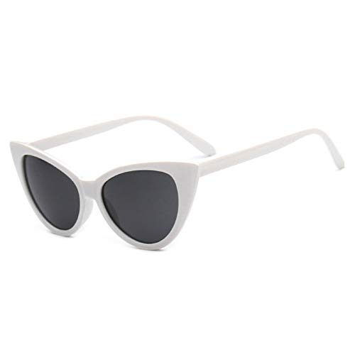 Astemdhj Gafas de Sol Sunglasses Gafas De Sol De Ojo De Gato para Mujer, Gafas De Sol De Diseñador Vintage, Montura De Gafas Sexis, Gafas De Sol para Mujer, Estilo VeraniegoAnti-UV