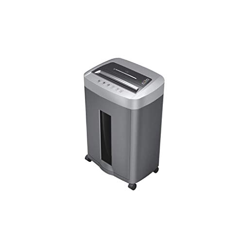 Lowest Price! XJJZS Shredder with Wheels-Heavy-Duty Micro-Cut Paper Shredder, Shredding Capacity for...