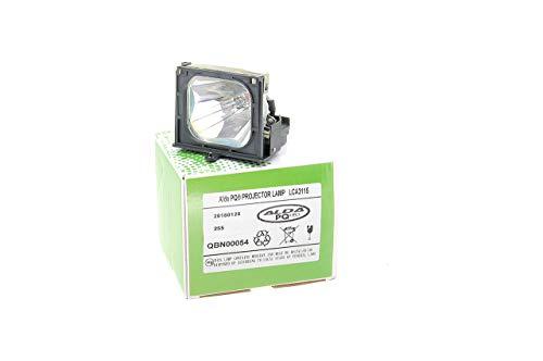 Alda PQ-Premium, Beamerlampe / Ersatzlampe für Philips LCA3115 Projektoren, Lampe mit Gehäuse