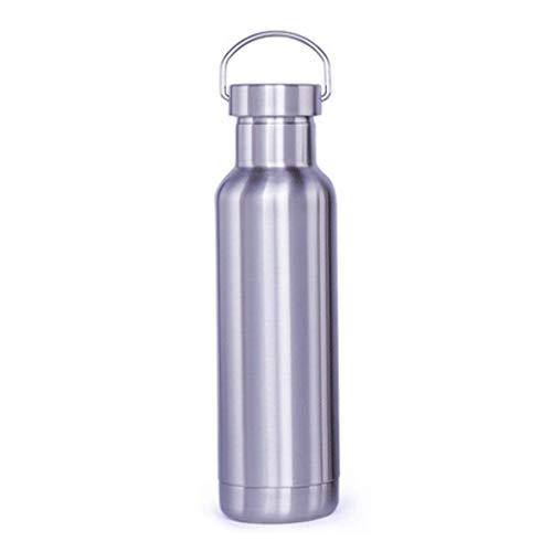 Deportes de botella de agua Caldera de acero inoxidable, botella de deportes doble vacío de gran tamaño (60 onzas / 1800 ml), termo de viaje Coca-Cola en forma de deportes al aire libre for acampar y