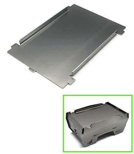 Edelstahl Grillplatte/Plancha passend für den Skotti Grill, 3mm Edelstahl