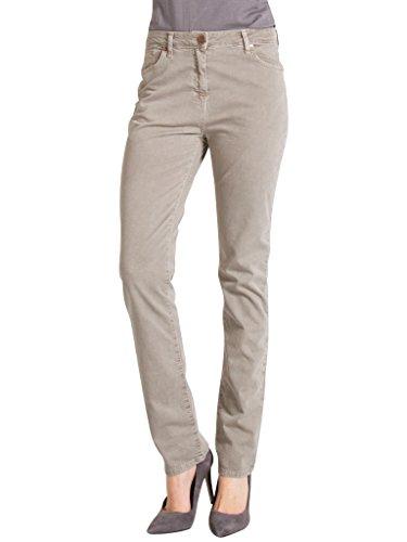 Carrera Jeans - Pantalone per Donna, Tinta Unita, Tessuto Gabardina IT 40