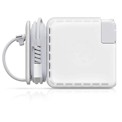 MacBook Charger Case Cover with Cord Winder, Travel Cord Organizer for MacBook Pro Adapter 85W 87W 96W Mac Charging Cable Management Computer Accessories for MacBook Pro 15 16 Inch (15 &16'')