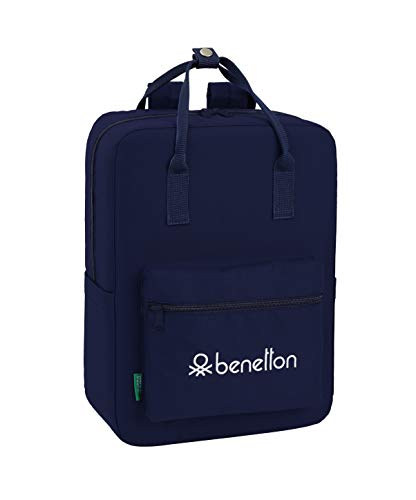 Benetton Navy Blue, Equipaje para niños, Tamaño Único, Multicolor