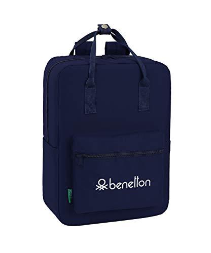 Benetton Navy Blue, Equipaje para niños, Tamaño Único,