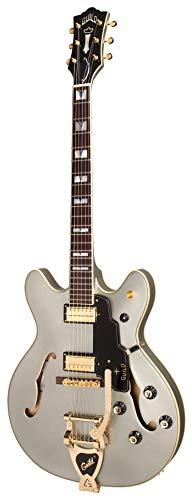 Guild Guitars Starfire VI Semi-Hollow Body Electric Guitar, Shoreline Mist, Double-Cut, Newark St. Collection