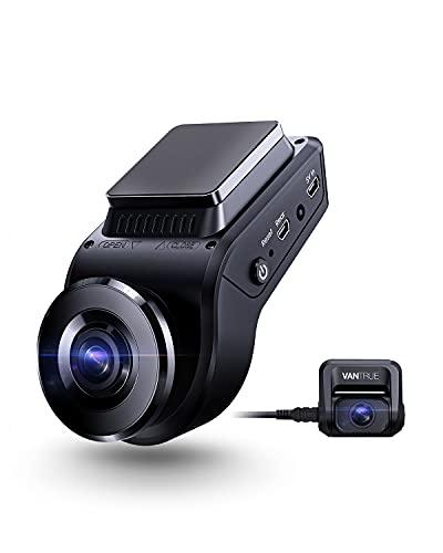 VANTRUE S1 4K Double 1080P Caméra Embarquée pour Voiture, Dashcam Avant 2880 x 2160P, Vision...