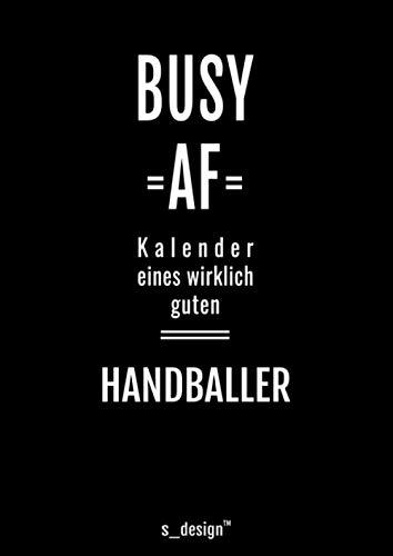 Kalender 2021 für Handballer / Handball-Spieler: DIN A4 Tagesplaner / Wochenplaner / Terminkalender für das ganze Jahr: Termin-Planer / Termin-Buch / ... von 7 bis 21 Uhr (4 Termine pro Stunde)