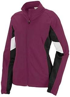 Augusta Sportswear Women's Tour De Force Jacket L Maroon/Black/White