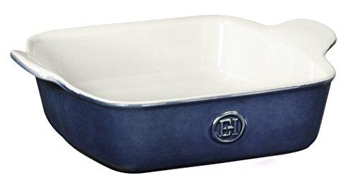 Emile Henry Made In France HR Modern Classics Square Baking Dish 8 x 8/2 Qt, 9 x 9, Twilight Blue