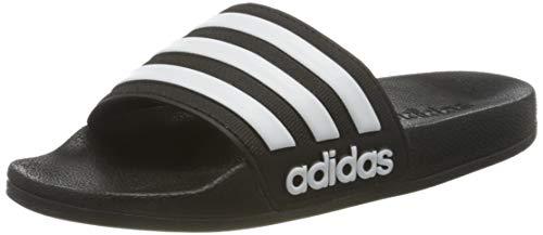 adidas Adilette Shower K Slide Sandal, Core Black/Cloud White/Core Black, 37 EU