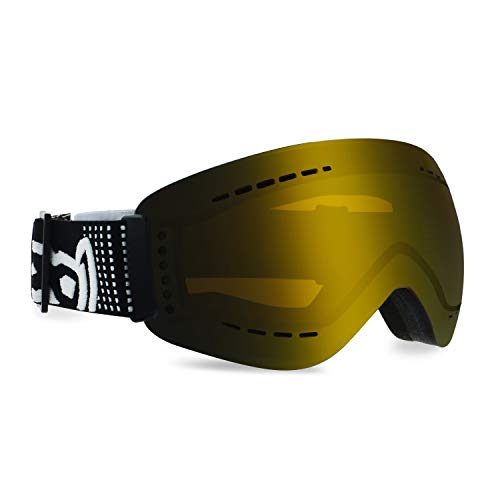 gloryfy unbreakable eyewear Unisex– Erwachsene Gold GP3 Transformer Contour POL, Helm kompatibel