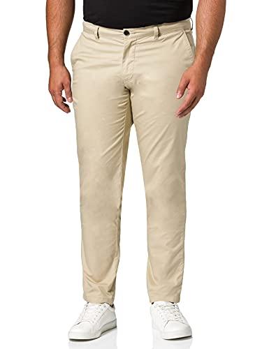Sisley Trousers 4EV855GT9 Pantaloni, Stone 39a, 48 Uomo