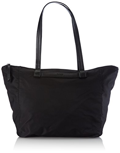 BREE Barcelona NYLON 9, black, zip tote 295900009 Damen Shopper 35x16x33 cm (B x H x T), Schwarz (black 900)