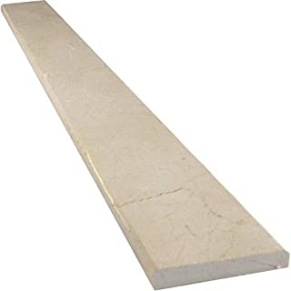 Vogue Tile Crema Marfil Marble Threshold (Marble Saddle) - Polished - (6